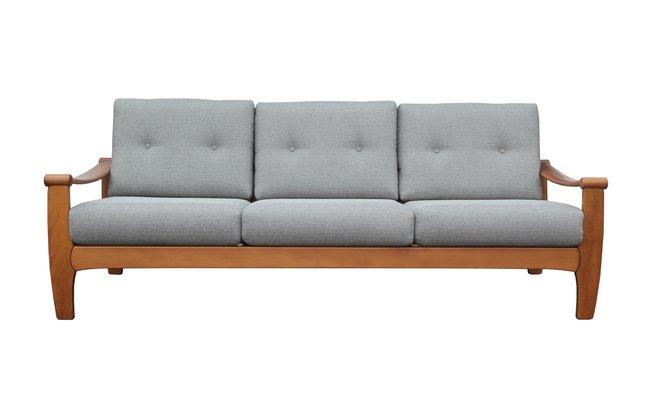 Incredible Light Grey 3 Seater Sofa 1960S Cjindustries Chair Design For Home Cjindustriesco