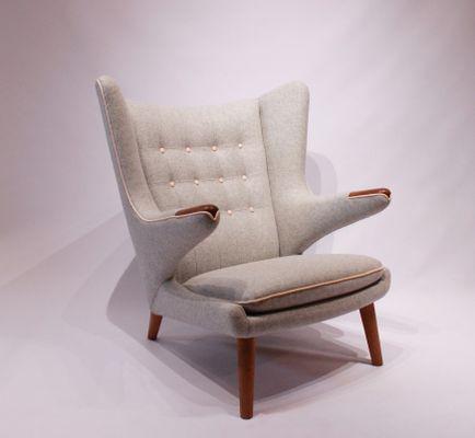 Model AP19 Papa Bear Chair By Hans J. Wegner For A.P. Stolen, 1962 2
