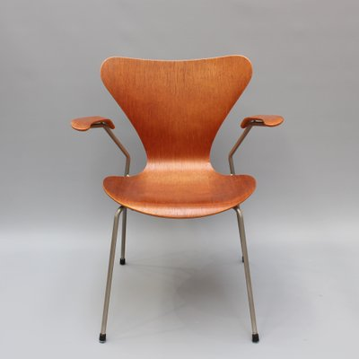 Series 7 Chair In Rosewood By Arne Jacobsen For Fritz Hansen, 1960s 1