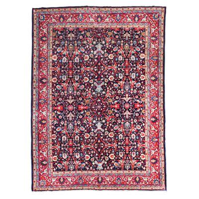 Antiker Persischer Tabriz Teppich Mit Klassischem Garrus Design, 1920er 1