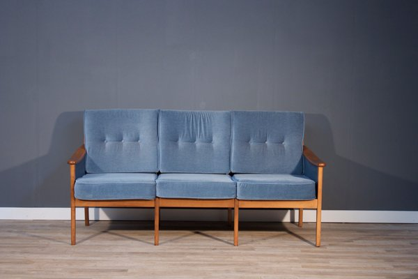 89f696ba7a1 Vintage Three-Seater Sofa by Walter Knoll for sale at Pamono