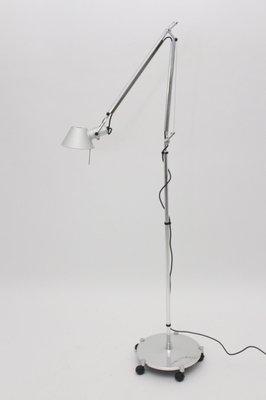 Tolomeo Terra Floor Light by Michele de Lucchi & Giancarlo Fassina for Artemide, 1980s