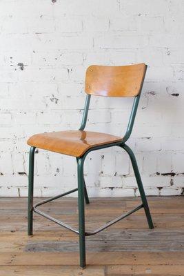 Chaise Vintage Industrielle De Mullca 1