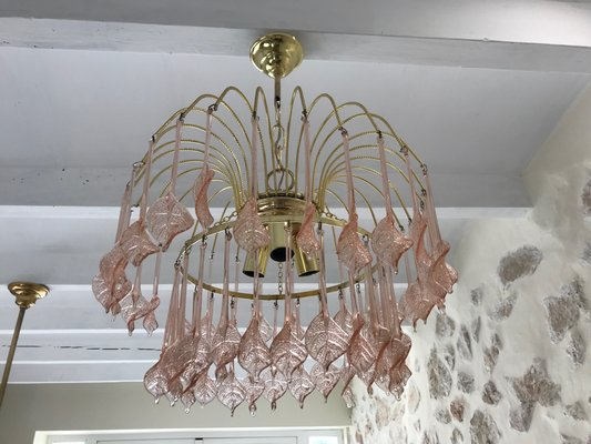 Lampadario Rosa Cristallo : Lampadario rosa lampadario rosa lombardi lampadari lampadario