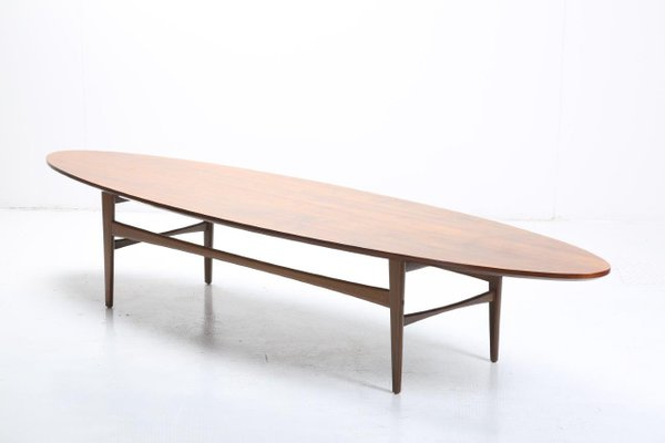 Oval Coffee Table From Pizzetti 1960s