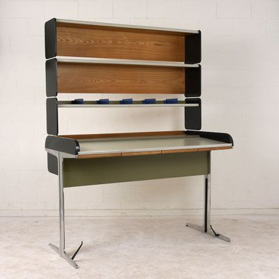 Mid Century Roll Top Desk By George Nelson For Herman Miller 1