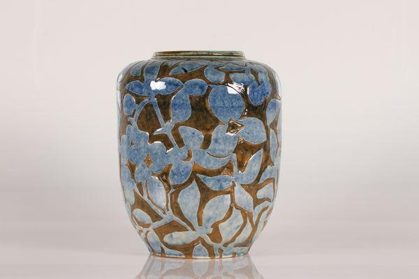 Large Ceramic Floor Vase By Aksel Sigvald Nielsen For Knabstrup