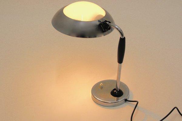 Bauhaus Desk Lamp by Christian Dell for Koranda, 1930s