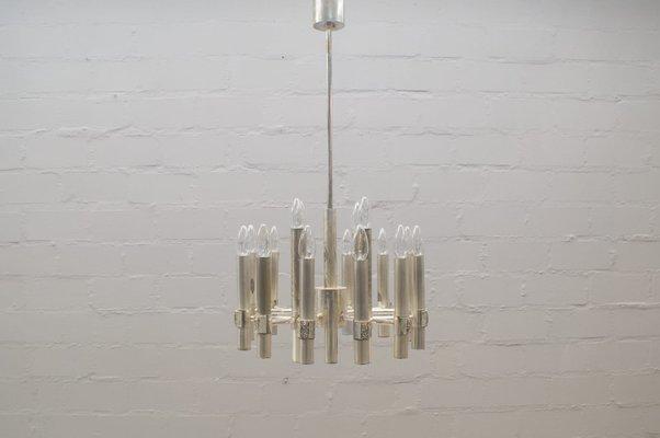 Schon Kronleuchter Mit 16 Leuchten Von Gaetano Sciolari, 1960er 1