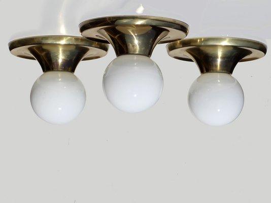 Plafonnier modèle light ball par castiglioni brothers pour flos