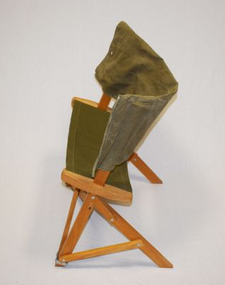 Pleasant Model Praia Folding Chair From Simon International 1968 Theyellowbook Wood Chair Design Ideas Theyellowbookinfo