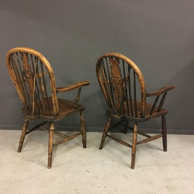 Antique Windsor Chairs, Set of 2 15 - Antique Windsor Chairs, Set Of 2 For Sale At Pamono