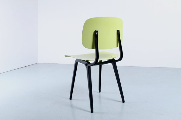 Revolt Chair In Black Yellow In Ciranol By Friso Kramer For Ahrend De Cirkel 1960s For Sale At Pamono