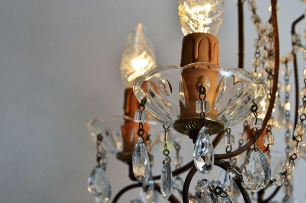Lampadario Rosa Cristallo : Lampadario rosa cristallo lampadario moderno in cristallo in