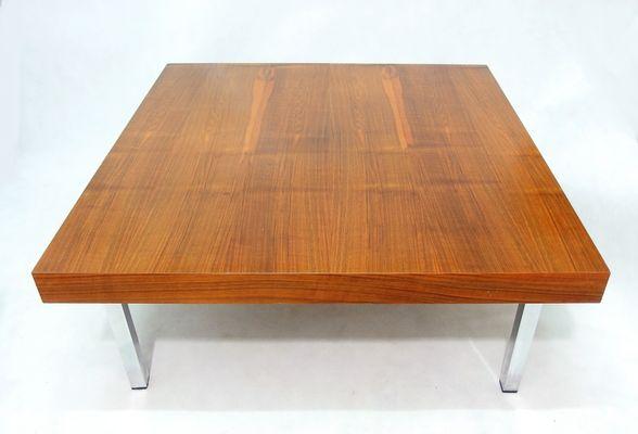 Niedriger Teak Tisch, 1960er 2