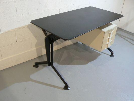 Bureau arco vintage par studio architetti bbpr pour olivetti