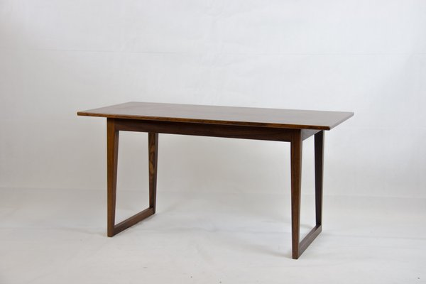 Vintage Danish Rosewood Coffee Table With Runner Legs For Sale At Pamono