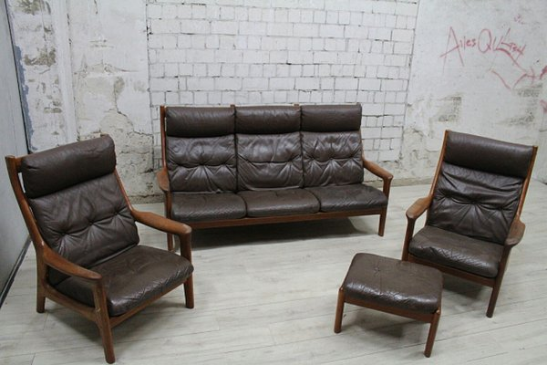 Teak Living Room Set From Thams 1960s 1