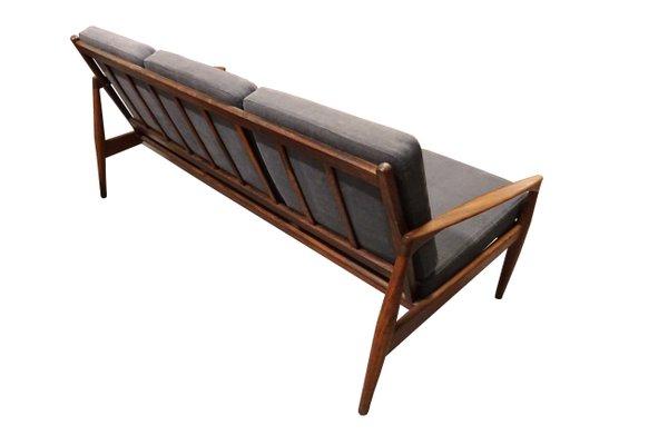 Pleasant Paper Knife 3 Seater Sofa By Kai Kristiansen For Magnus Olesen 1950S Spiritservingveterans Wood Chair Design Ideas Spiritservingveteransorg