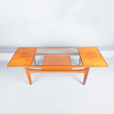 G En VWilkins Table Basse Par Plan1960s Pour Teck Long John xBECedWQro