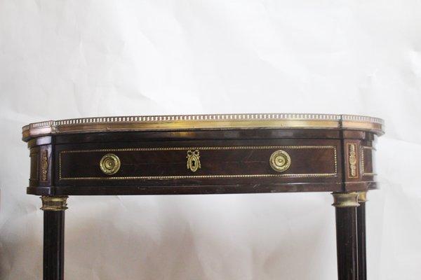 Consolle a semiluna antica Luigi XVI in vendita su Pamono