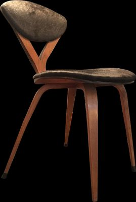 vintage chair by cherner norman foster for plycraft 1950s for
