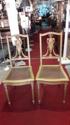 Sedie in stile Luigi XVI, anni \'20, set di 2 in vendita su Pamono