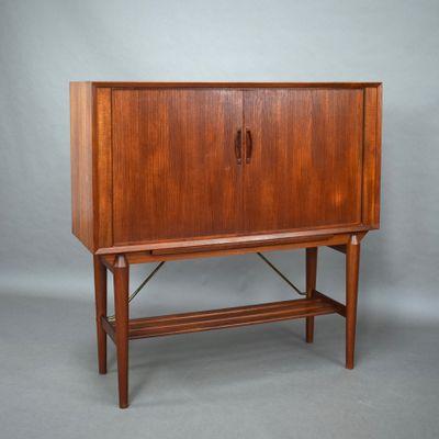 Scandinavian Teak Liquor Cabinet, 1950s