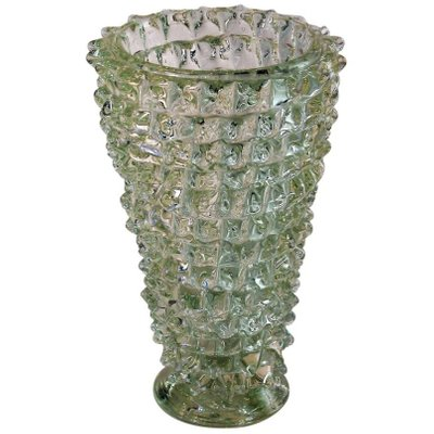 Vintage Murano Glass Vase By Ercole Barovier 1940s For Sale At Pamono