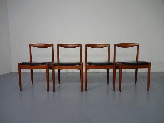 vintage teak furniture. Vintage Teak Vamo PV Dining Chairs By Arne Vodder For Sonderborg, Set  Of 4 Vintage Teak Furniture N