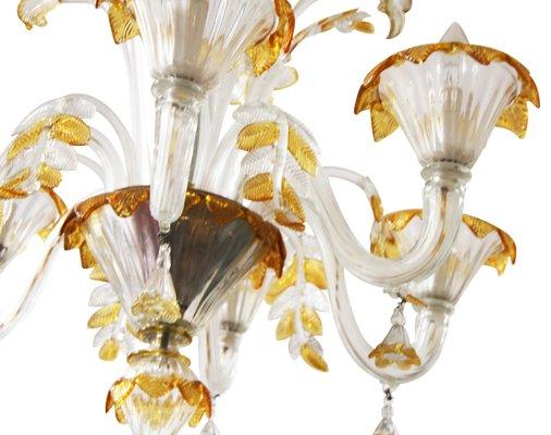 Lampadario Antico Con Angeli : Lampadario e lampade da parete in vetro di murano di egidio