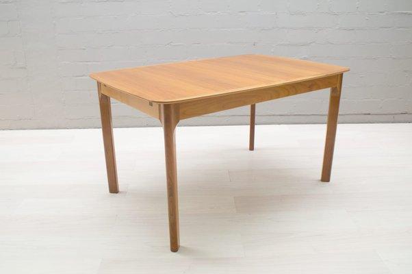 42b10c6524ee Mid-Century Extendable Walnut Veneer Dining Table