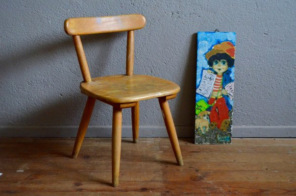Vintage Childu0027s Chair from Baumann ... & Vintage Childu0027s Chair from Baumann 1960s for sale at Pamono