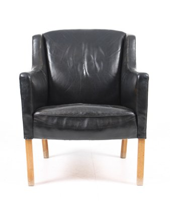 Danish Lounge Chair By Ole Wanscher For A. J. Iversen, 1960s 1