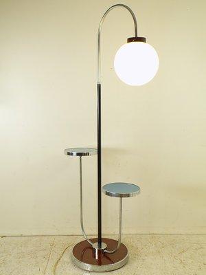 Vintage Floor Lamp By Jindřich Halabala