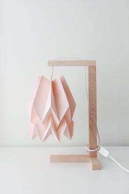 Pastel Pink Table Lamp by Orikomi