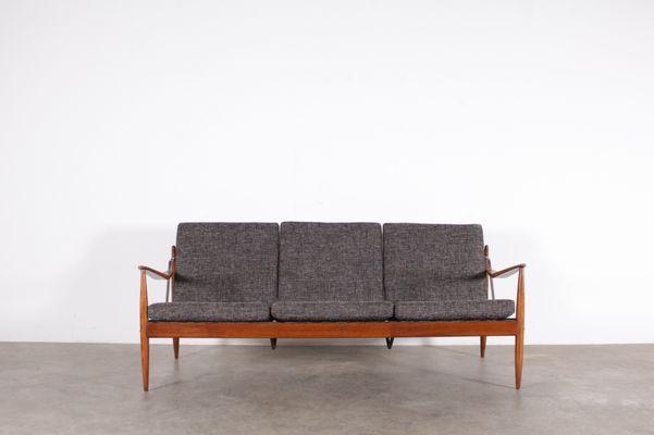 Vintage Scandinavian 3 Seater Sofa 1