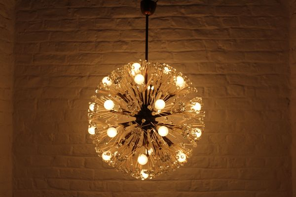 Lampade Da Soffitto Vintage : Lampada da soffitto vintage di emil stejnar per rupert nikoll in