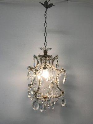 À Suspension Vintage Teresa En Cristal Lampe Maria reWxoCBd