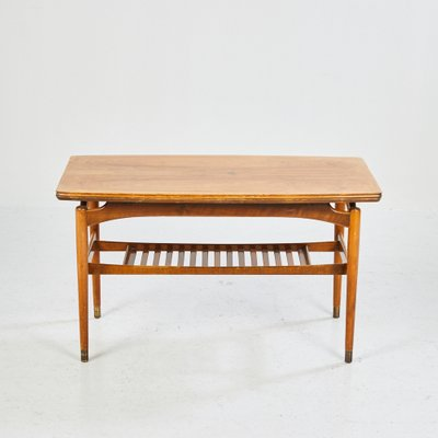 Table Basse Extensible En Palissandre Danemark 1970s