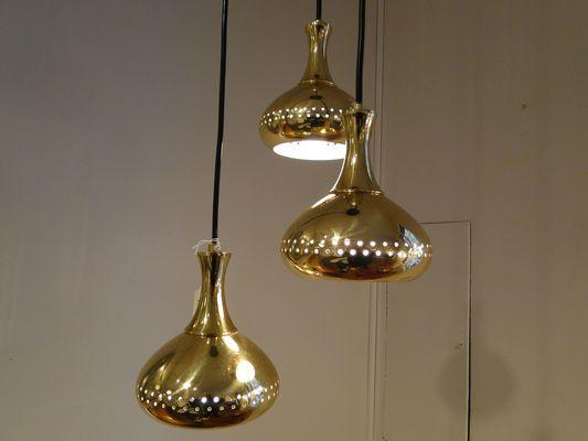 Lampade A Sospensione Vintage : Lampada a sospensione vintage di hans agne jakobsson per markaryd
