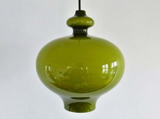 Green glass pendant lamp by hans agne jakobsson for markaryd 1960s green glass pendant lamp by hans agne jakobsson for markaryd 1960s 2 aloadofball Image collections