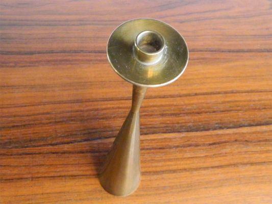 Brass Candlestick by Tapio Wirkkala for Kultakeskus Oy d68dada027