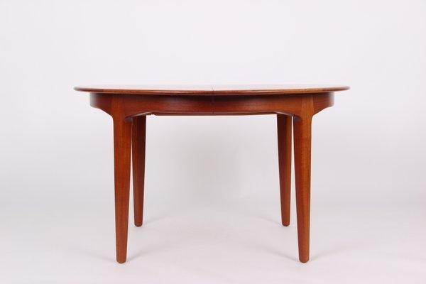 Model 62 Dining Teak Table By Henning Kjaernulf For Soro Stolefabrik
