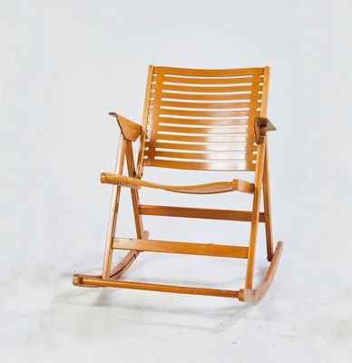 lente Rebotar consultor  Rex Rocking Chair by Niko Kralj for Impakta Les, 1970s for sale at Pamono