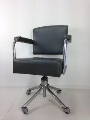 Chaise De Bureau Industriel Vintage