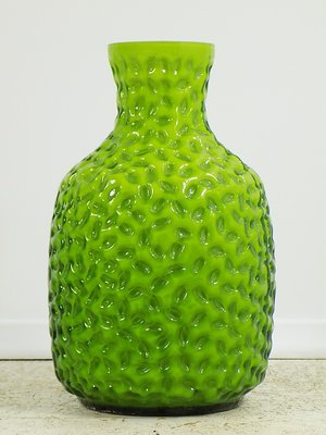 Green Glass Vase From Stelvia 1960s For Sale At Pamono