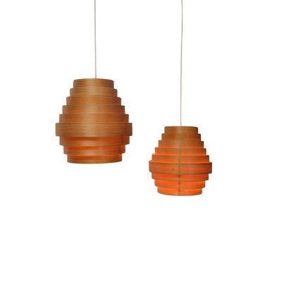 Mid Century Pendant Lamps By Hans Agne Jakobsson For Markaryd 1950s