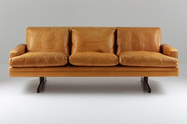 Vintage Model 807 Scandinavian Sofa By Fredrik Kayser For Vatne Lenestolfabrikk A S 1