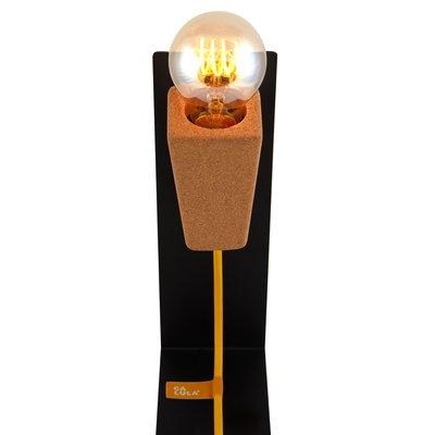Lampada Da Tavolo Glint 1 Con Base Nera E Cavo Giallo Di Mendes Macedo Per Galula In Vendita Su Pamono